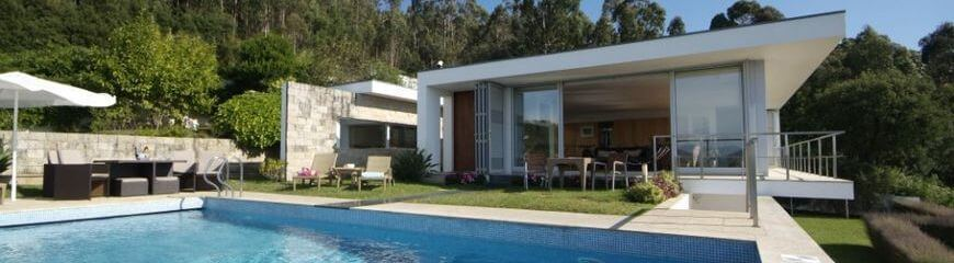 Luxury villas for rent in Northern Portugal